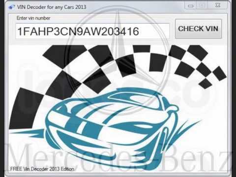 2013 Vin Decoder Mercedes Download now FREE - YouTube