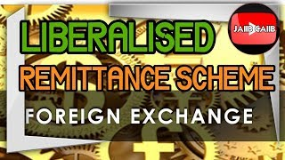 Liberalized Remittance Scheme - Foreign Exchange in Hindi
