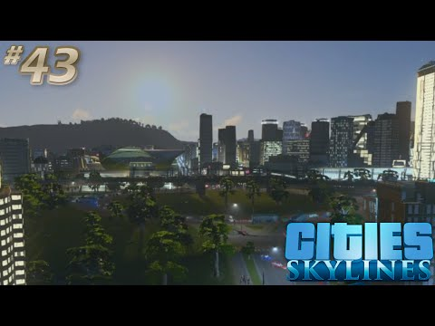 [43] Cities Skylines Snowfall | 54% Unemployment?! (Let's Play)