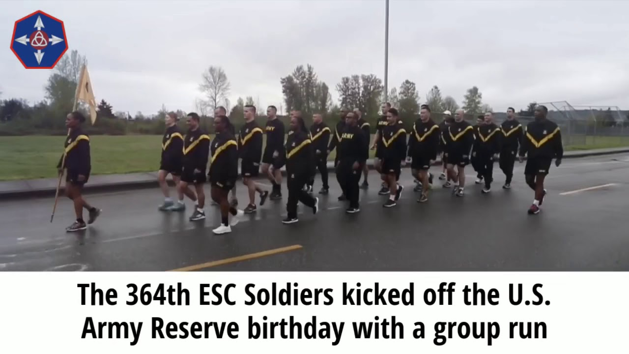 The 364th ESC celebrated the 111th U.S. Army Reserve birthday at the Marysville Armed Forces Reserve Center, April 23, 2019