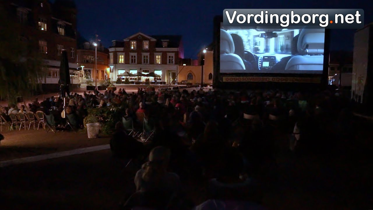 Open Air Bio I Vordingborg 2017 Zulu Sommerbio Youtube