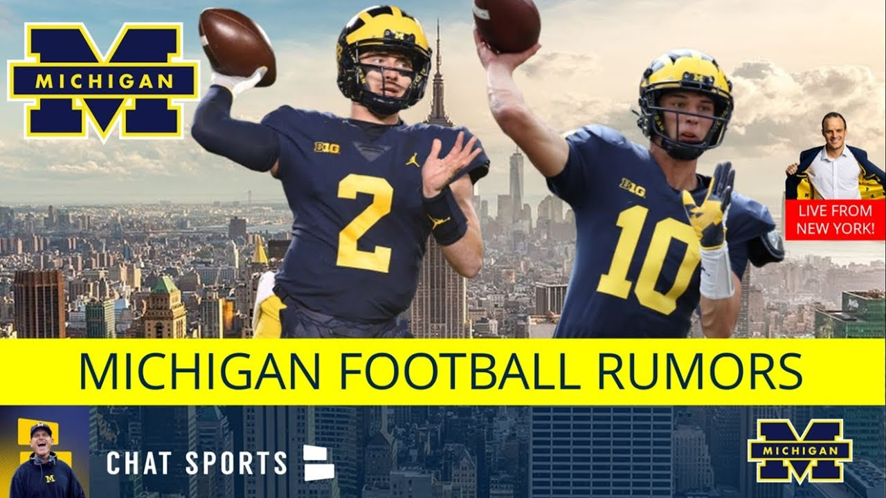 low priced f0826 5b385 Michigan Football Spring Game: Rumors On Harbaugh's 2019 Team Ft: Shea  Patterson & Chris Partridge