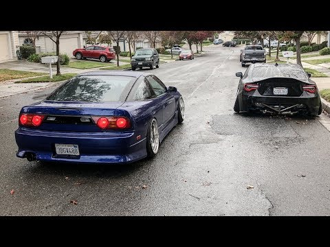 JDM KOUKI TAIL LIGHTS FOR THE 240SX!! (A Whole New Look)