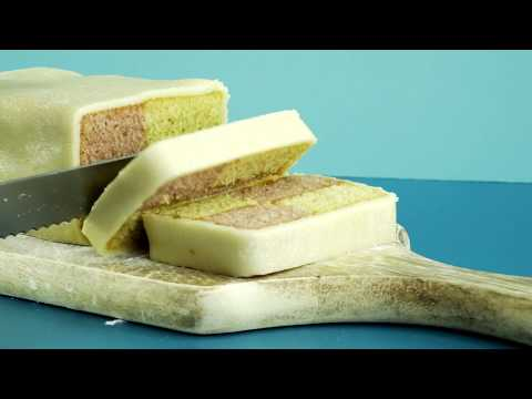 How to make a Battenburg Cake