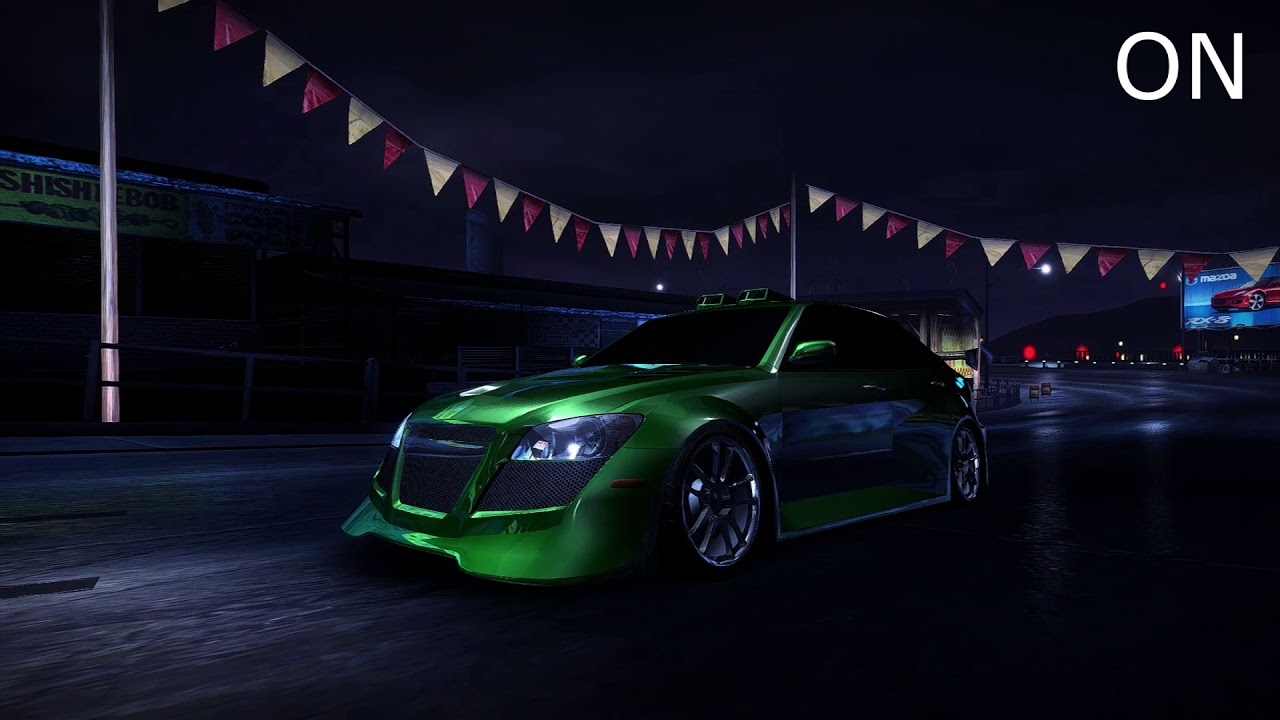 NFSMods - NFS Carbon Handling and Nitrous Mod