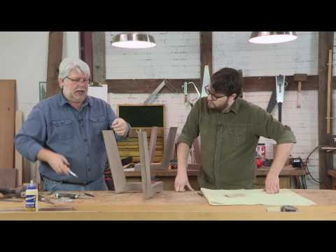Attaching a Table Top with Figure-eight Fasteners