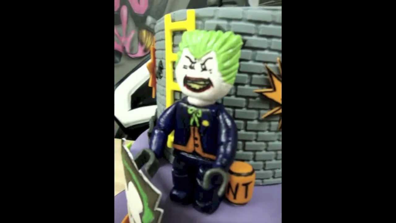 Lego Batman Amp Joker Birthday Cake Youtube