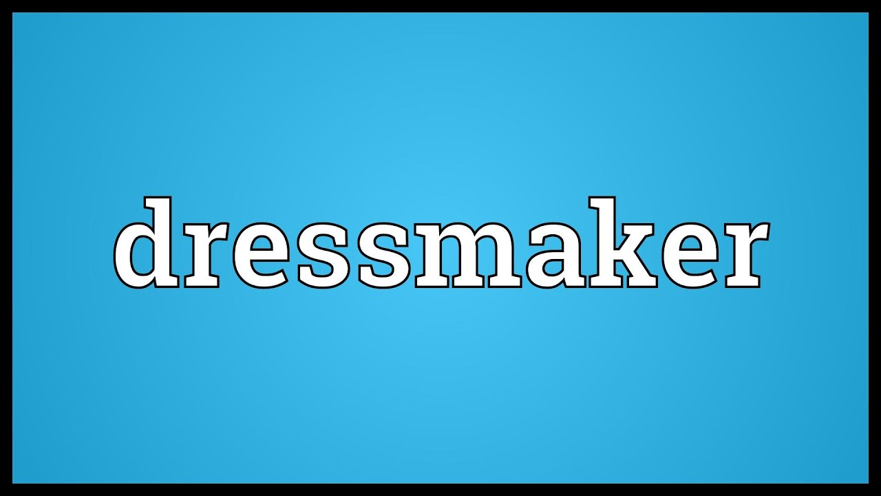 Seamstress meaning