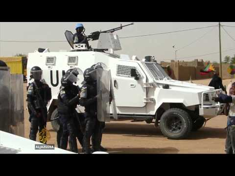 Mali attempts to retake rebel stronghold