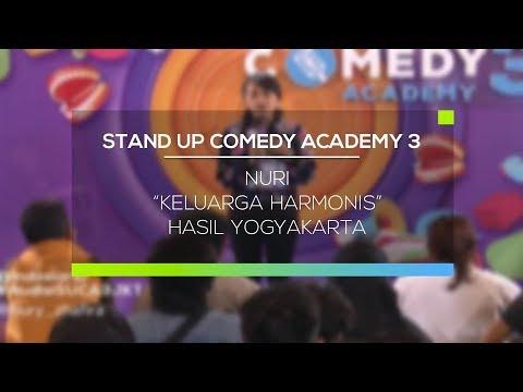 Stand Up Comedy Academy 3 : Siti Nuriah, Jakarta - Keluarga Harmonis
