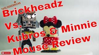 LEGO Brickheadz Minnie Mouse Review & Comparison to Kubros