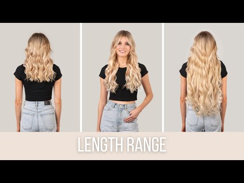 Hair Extensions Length Guide Zala Hair Youtube