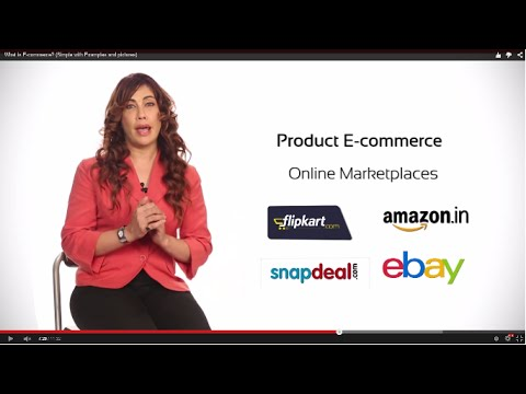 What is E-commerce? (Simple with Examples and pictures) - ECOMMERCE