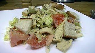 Постный салат со спаржей. Очень вкусно!!!