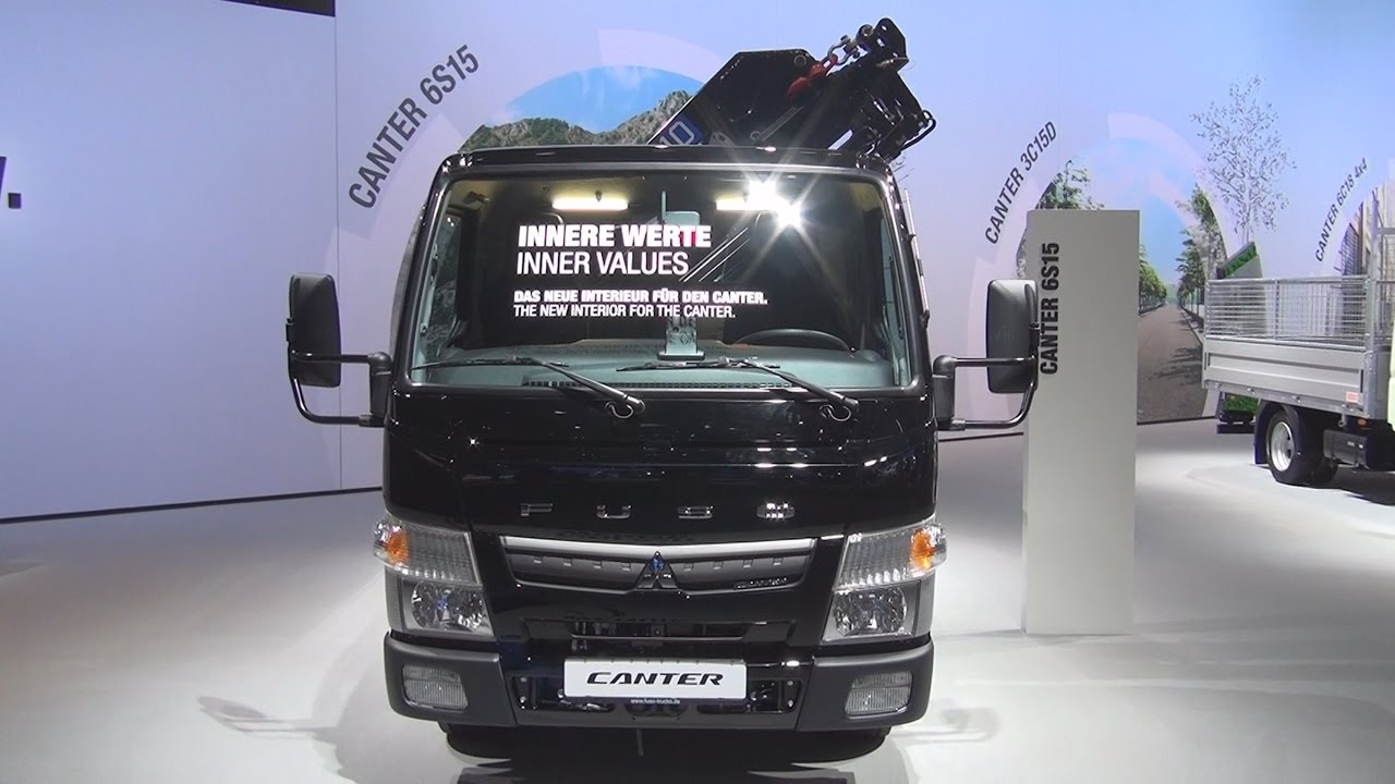 Mitsubishi Fuso Canter 6S15 Tipper Truck (2017) Exterior and Interior in 3D
