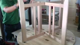 Gate Leg Table By Pks_vid01