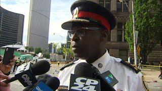 Police: 4 shot, 2 arrested at Raptors rally