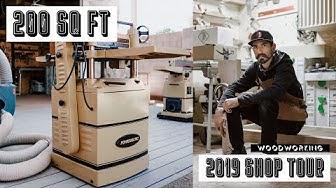 Woodworking Shop Tour 2019 Phoenix, Arizona -- Only 200 sq ft! | William Douglas Co. [4K]