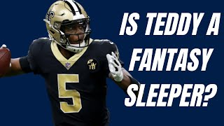 Teddy Bridgewater is a fantasy football SLEEPER on the Carolina Panthers!