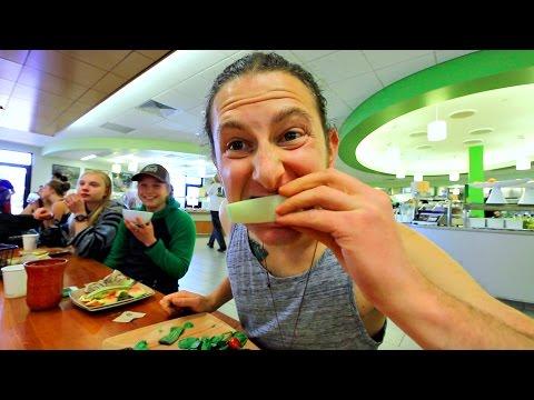 Raw Vegan Cafeteria Buffet!