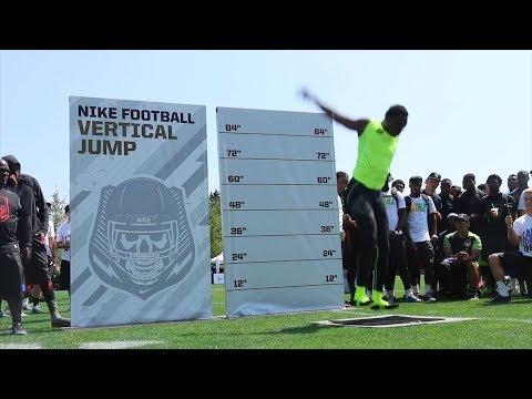 Josh Imatorbhebhe vertical jump