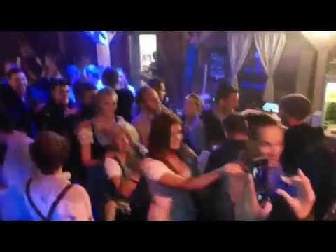 Die Hände hoch - Jägermeister Dj Alex & Matty Valentino Wiener Wiesn ORF Alm am 01.10.2015