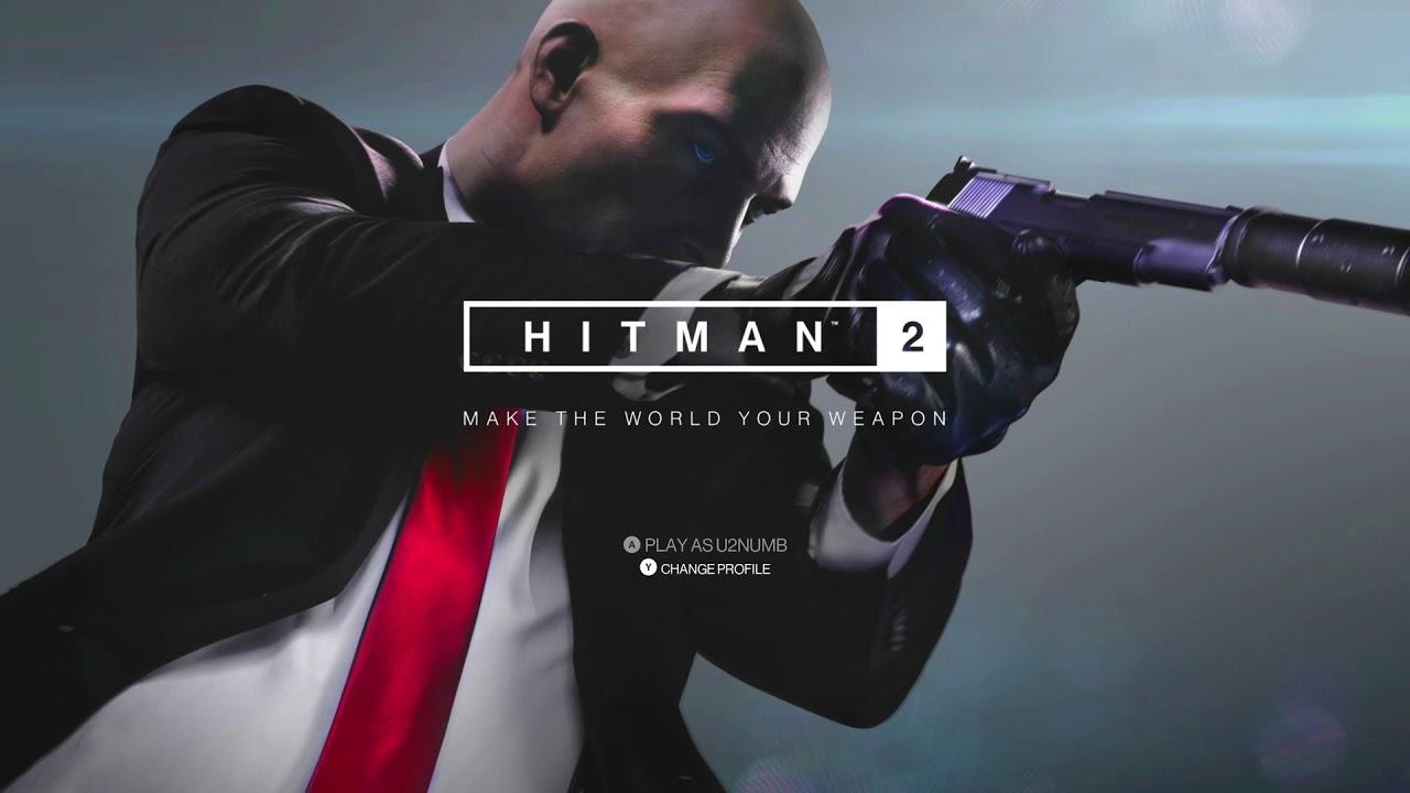 Hitman 2 Title Screen Pc Ps4 Xbox One Youtube