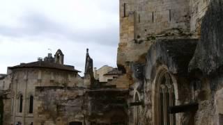 世界遺産サン=テミリオンの風景|中世そのままの石の町