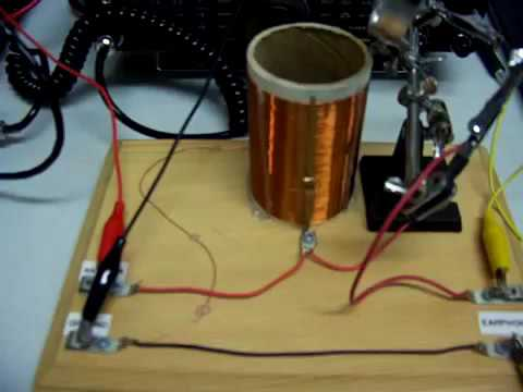 Crystal Radio with Galena used as Detector