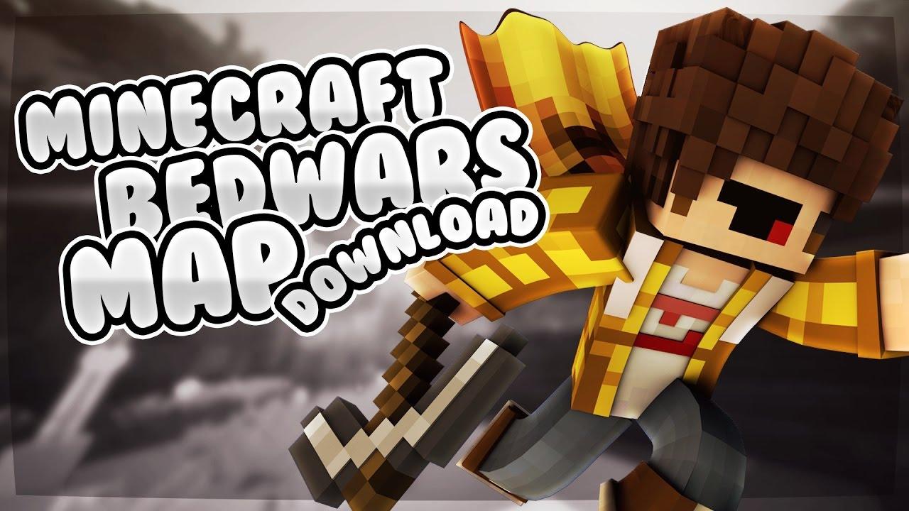 BedWars Map Grotte X Gratis Download YouTube - Minecraft die grobten hauser