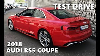 2018 Audi RS5 Coupe Test Drive, Exhaust Sound, Interior, Exterior