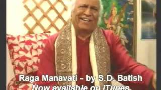 Raga Manavati by S D Batish - 72 Melakarta of South India (Carnatic) tabla by Ashwin Batish