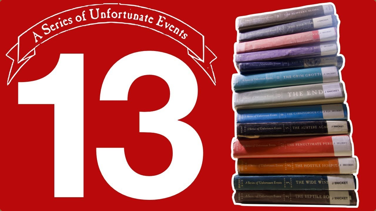 Download Lemony Snicket's A Series of Unfortunate Events | 13 Books in 13 Minutes