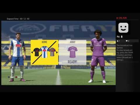 Fifa 17 Madrid career