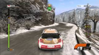 WRC 4 (PS3) Monte Carlo Rally - All 6 Stages (HD Gameplay)