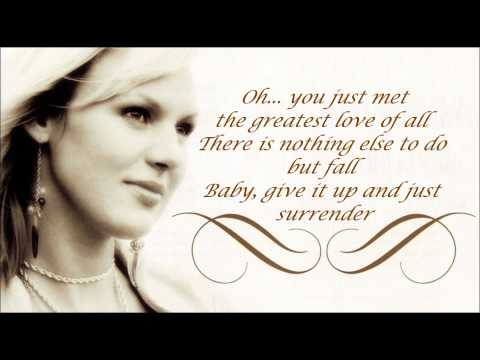 Sanna Nielsen - Surrender (Lyrics)