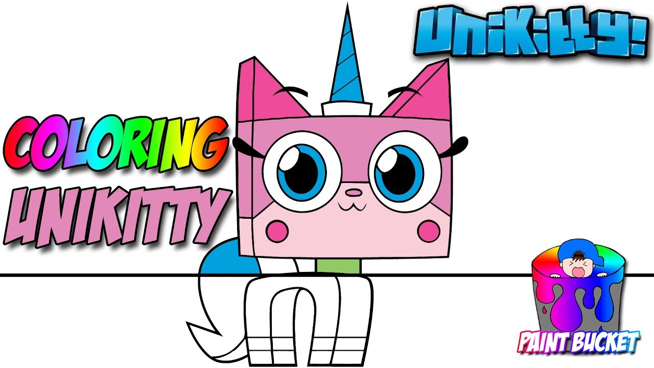 Unikitty Coloring Book Pages Cartoon