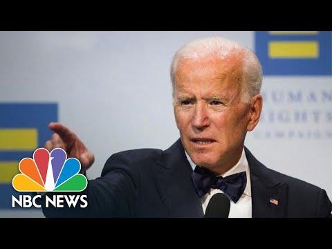 Joe Biden: 'The President Uses The White House As A Literal Bully'  | NBC News