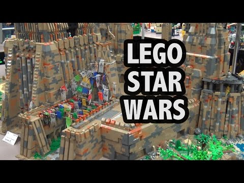 Huge LEGO Maz Kanata Castle on Takodana | Custom Star Wars
