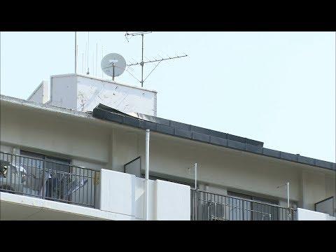 「家が崩れるかと…」岡山市で局所的な突風被害 5月の観測史上最大風速を観測