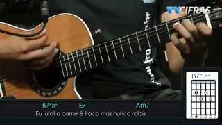 Seu Jorge - Amiga da Minha Mulher - Aula de violão - TV Cifras
