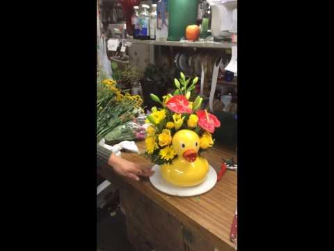 Park Florist creates custom arrangements! Serving the Bay Area Since 1911