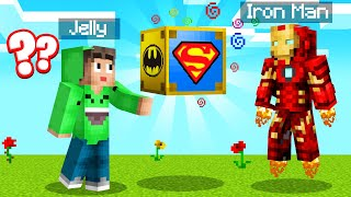We Found SUPERHERO LUCKYBLOCKS In MINECRAFT!