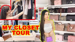 My Entire CLOSET + BAG Tour - Revealing Everything $