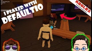 Roblox - test2 - I PLAYED WITH DEFAULTIO!