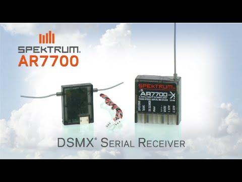 Spektrum Seriell Empfänger mit PPM SRXL SPMAR7700 Remote Rx