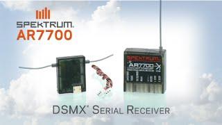 Spektrum AR7700 Serial Receiver with PPM/SRXL/Remote Receiver Output