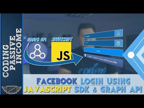 Facebook Login Tutorial Using Javascript SDK & Graph API