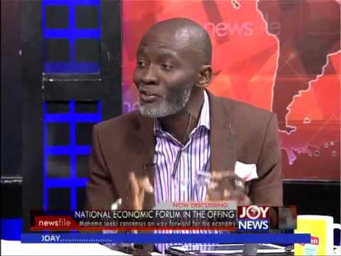 National Economic Forum in the Offing - News file on Joy news (10-5-14)
