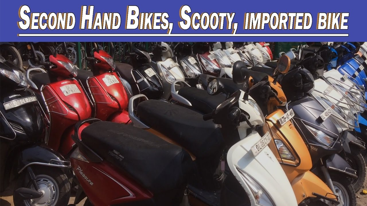 Second Hand Bike Market, Explored Bikes, Scooty, Govind Puri Kalkaji